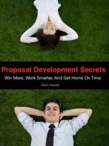 proposal development secrets cover