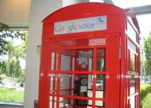 the google phone booth