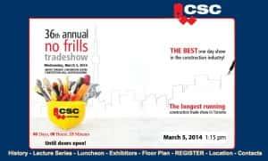 CSC trade show