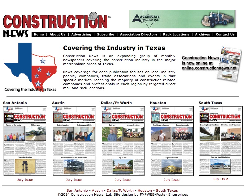 Construction News texas