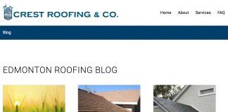 crest roofing blog edmonton