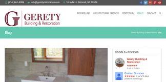 Gerety Building & Restoration blog
