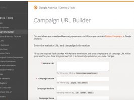 UTM builder google analytics