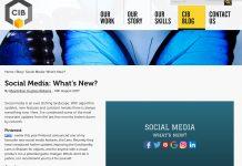 social media CIB blog