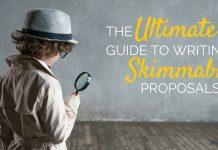 Skimmable proposals matt handal