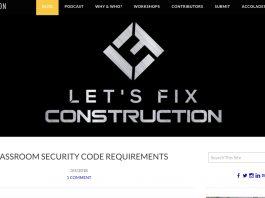 Lets fix construction blog